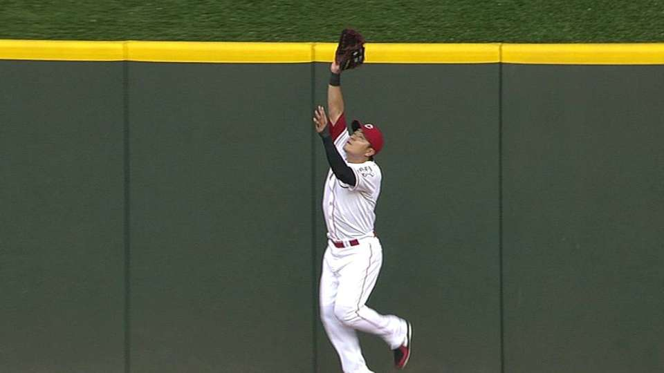 Choo's leaping catch