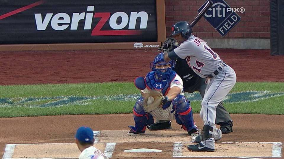 Dice-K's first Mets strikeout