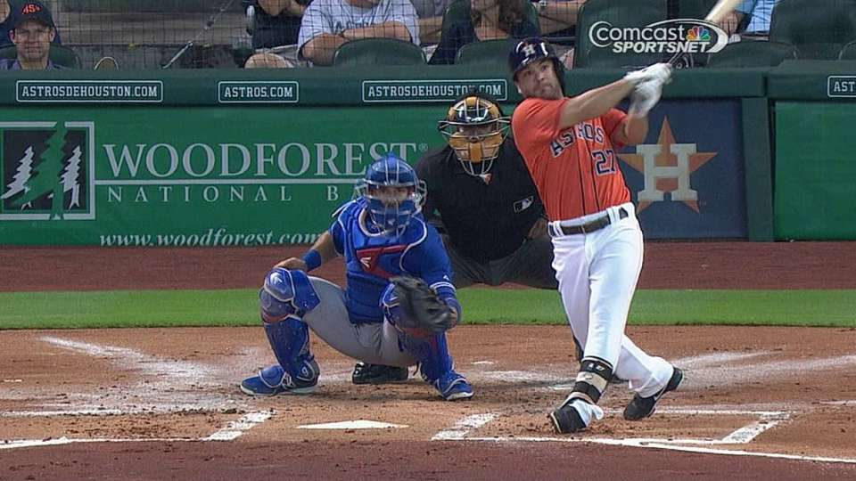 Altuve's reviewed RBI double