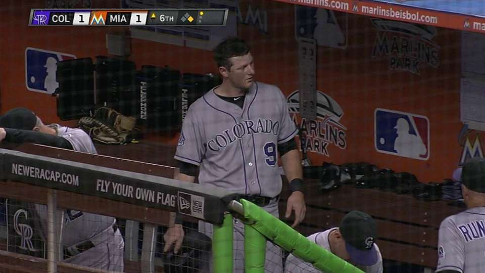 Cuddyer's RBI forceout