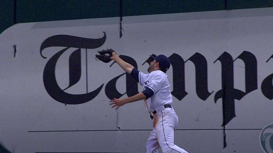 DeJesus' great catch