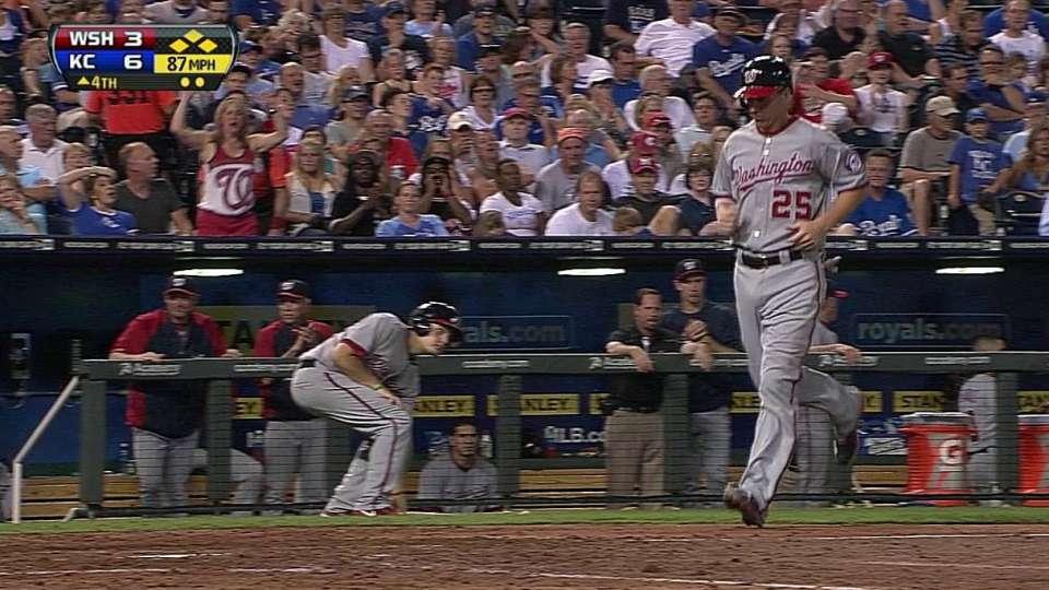 Zimmerman's bases-loaded walk