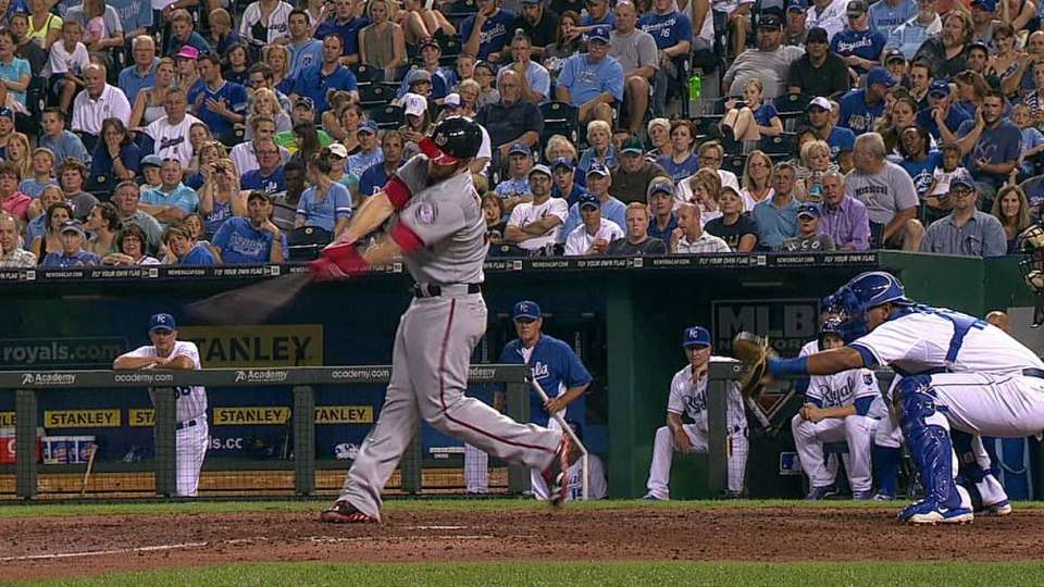 Harper's bases-clearing double