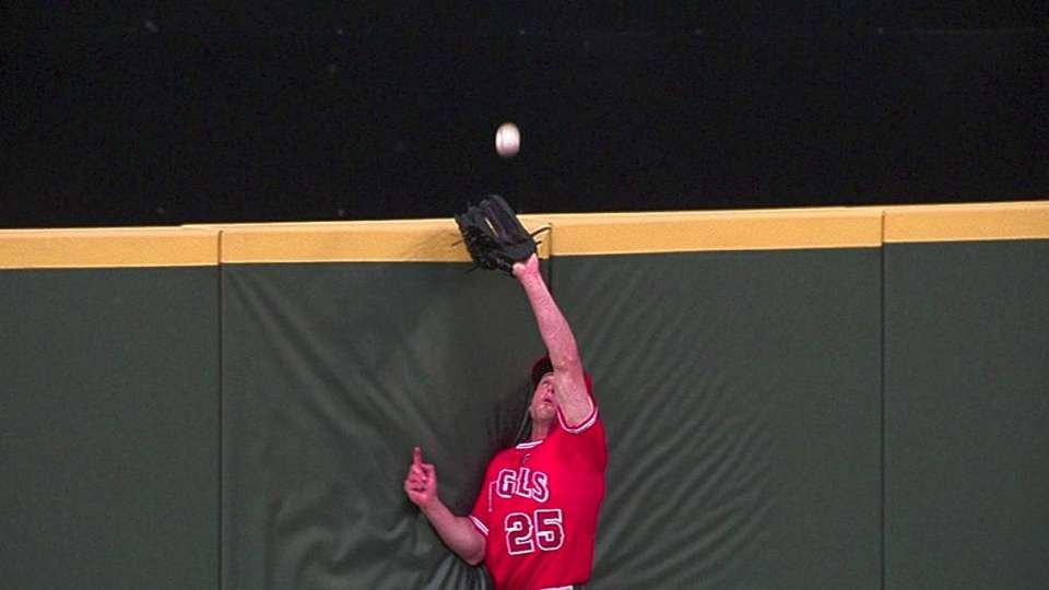 Bourjos' nice catch