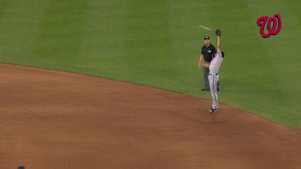 Rendon's leaping catch
