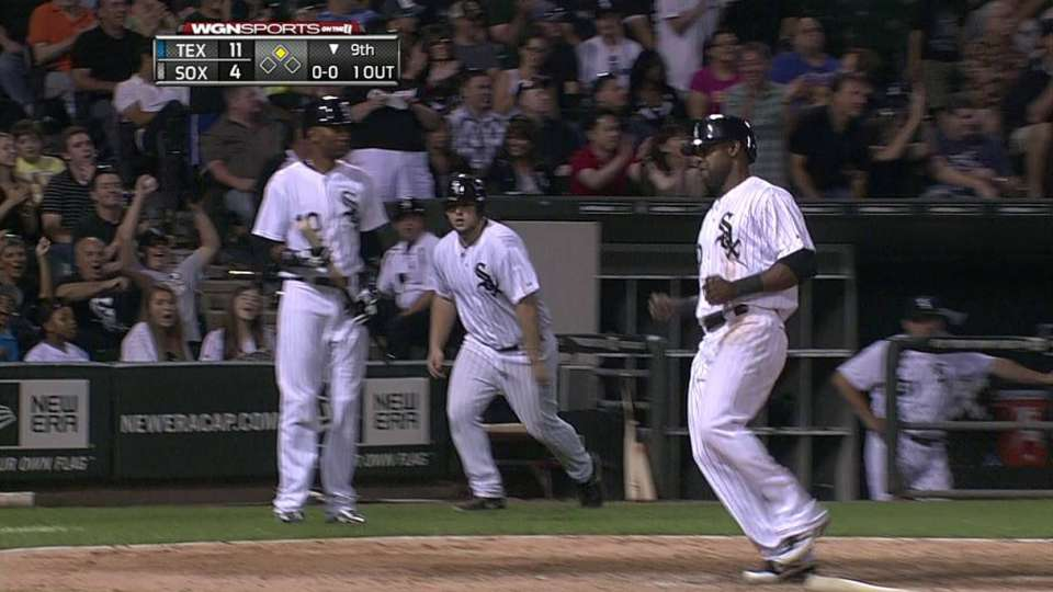 Danks' RBI double