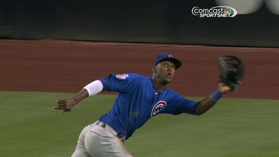 Lake's diving catch
