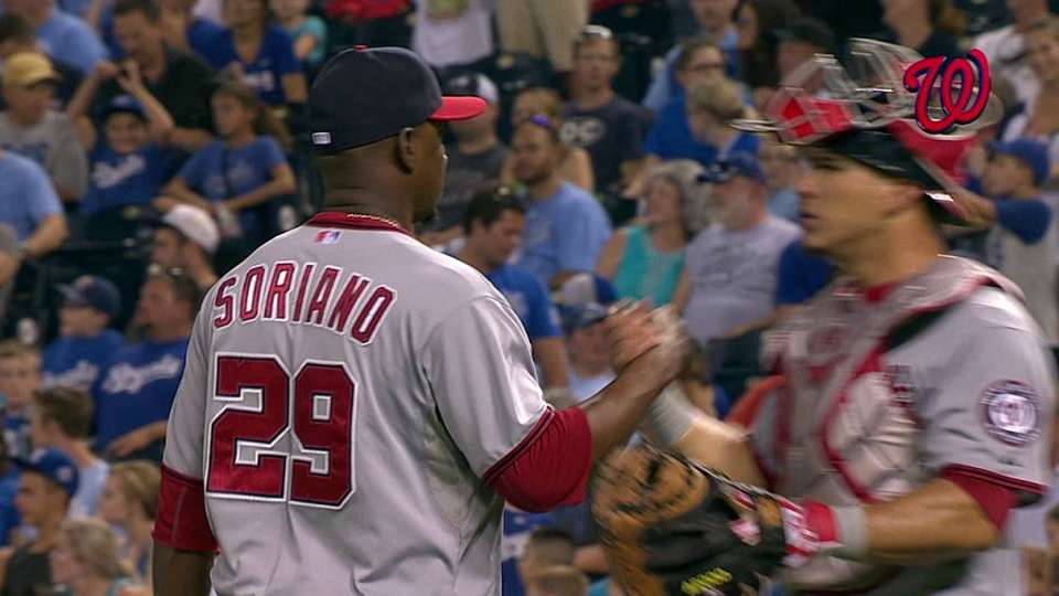 Soriano earns the save