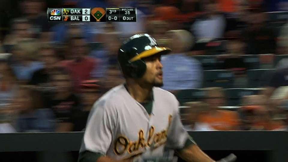 Crisp's four hits