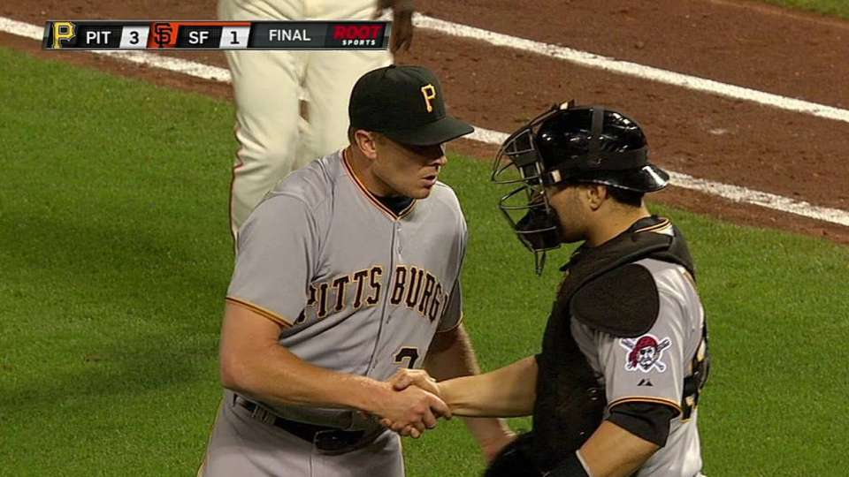 Melancon closes out the Giants
