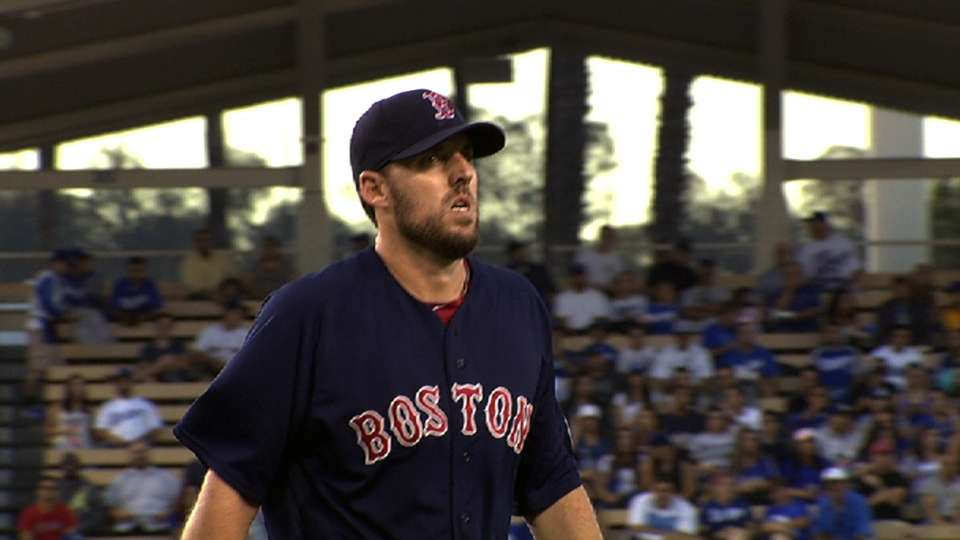 Lackey's strong performance