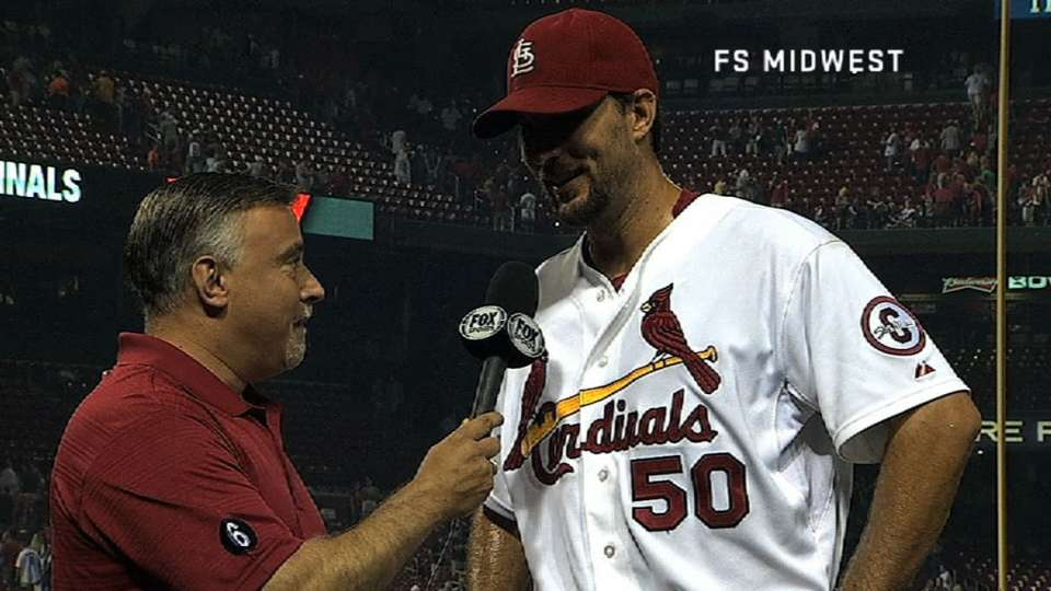 Wainwright on his outing
