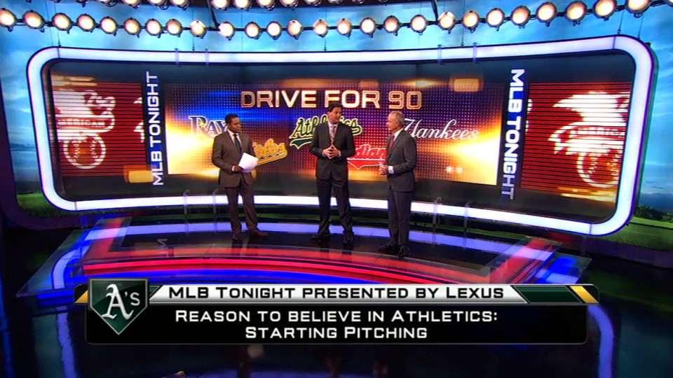 AL Wild Card talk on MLB Tonight