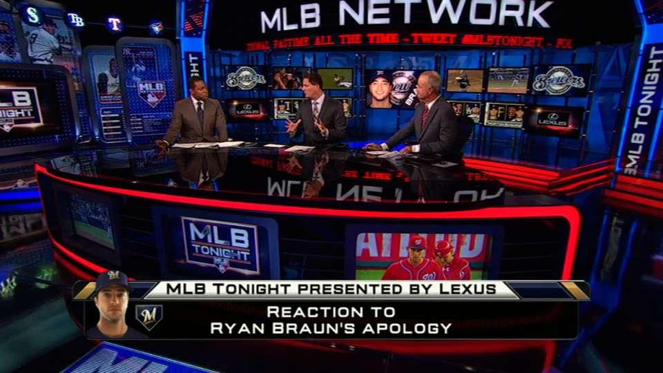 Reaction to Braun's apology