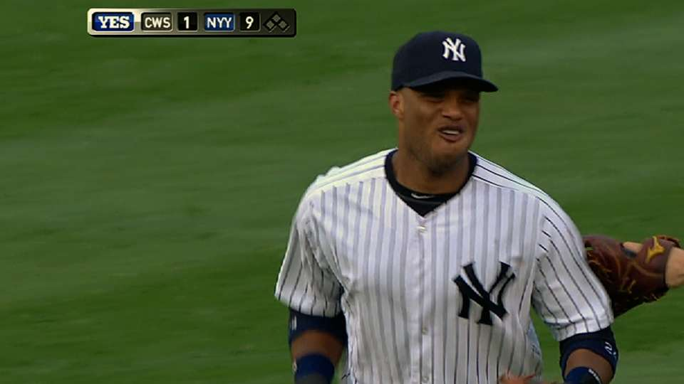 Cano hace tremendo doble-play