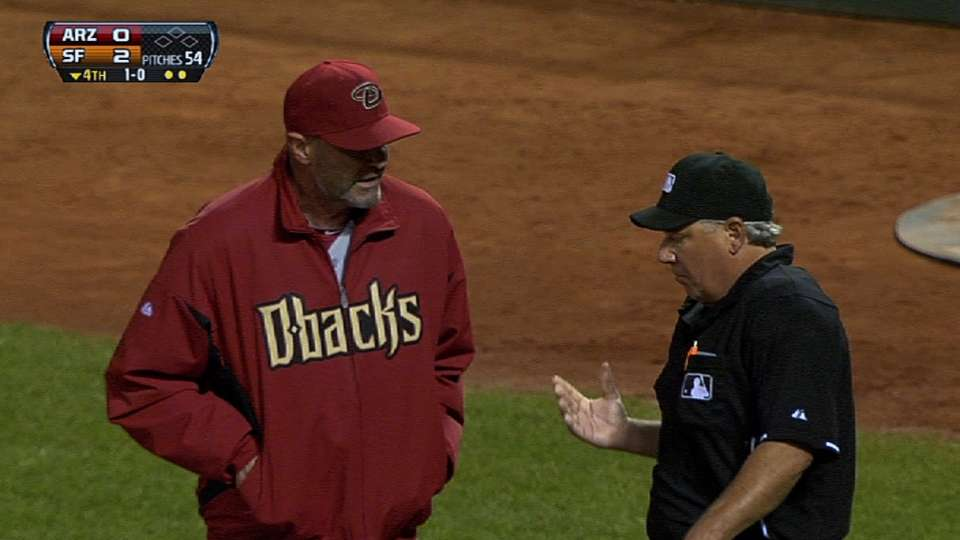 Gibson's ejection