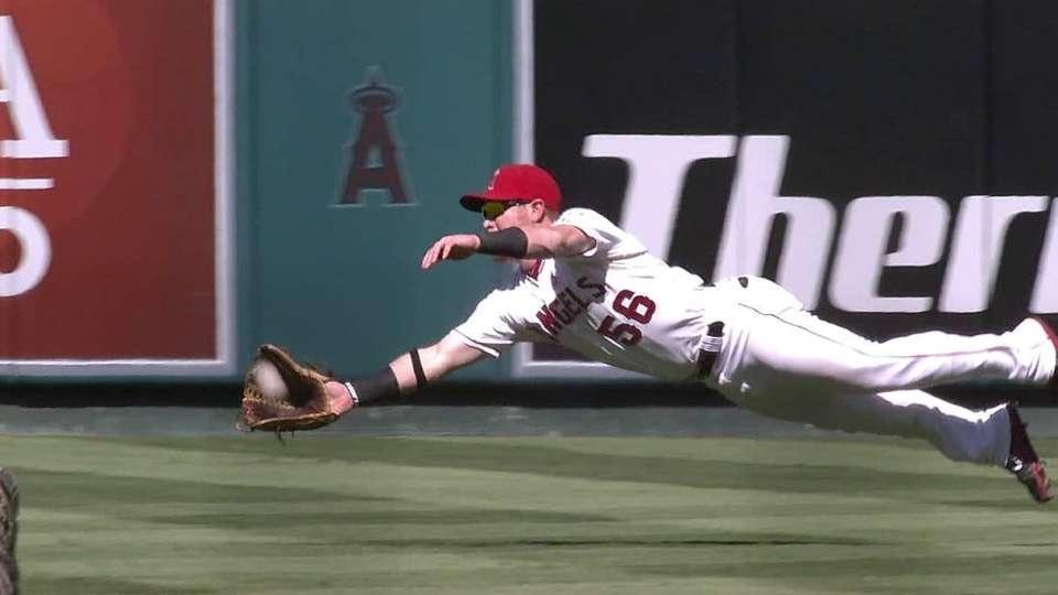 Calhoun's sensational catch
