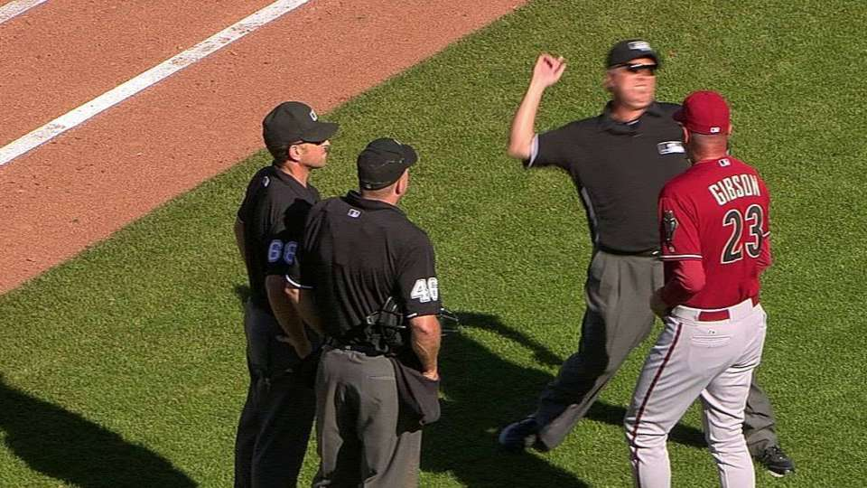 Gibson gets ejected
