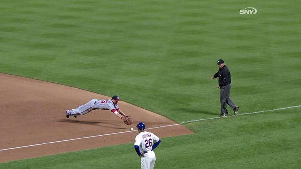 Lutz breaks up no-hit bid