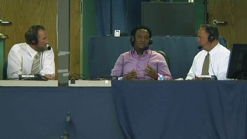 Pedro Martinez joins the booth