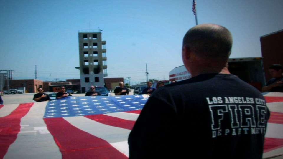 National 9/11 Flag's journey