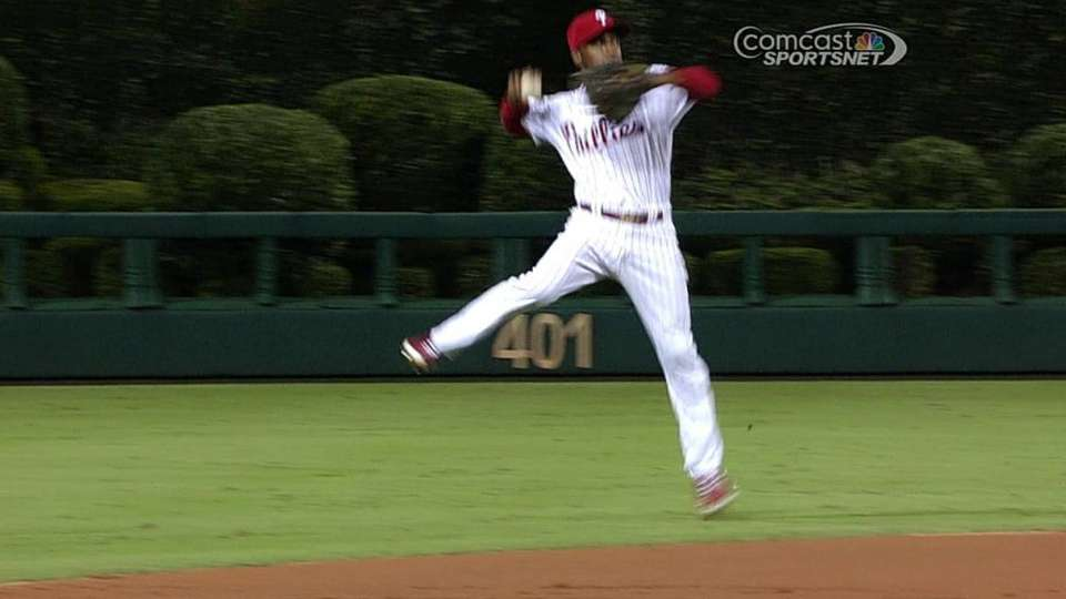 Rollins' jump-throw