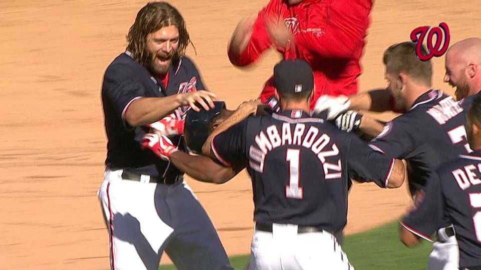 Nats walk off on error
