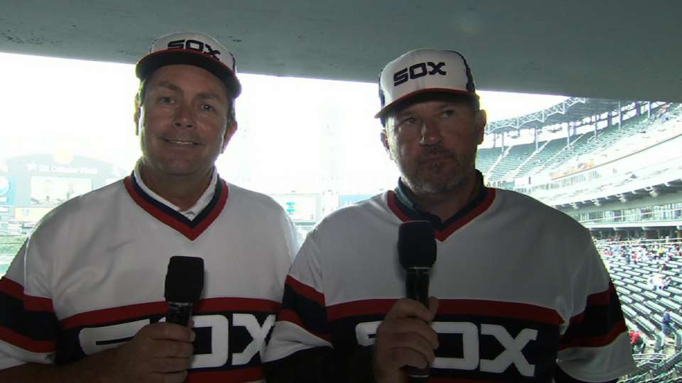 Law and Dotson on 1983 White Sox