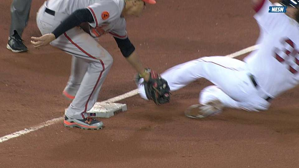 Sox pull off double steal