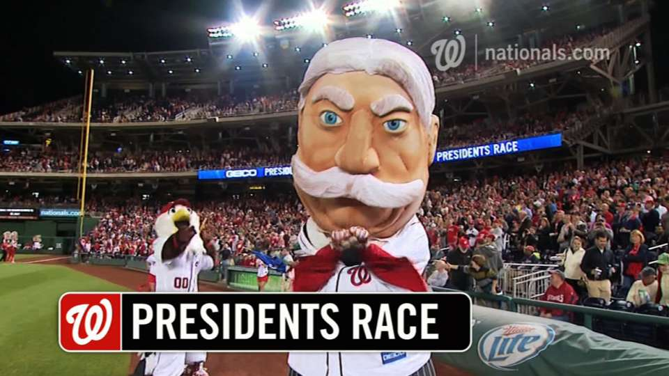 September 18 Presidents Race