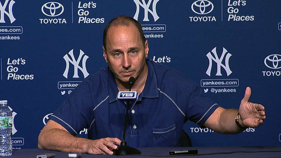 Cashman on the state of Yankees