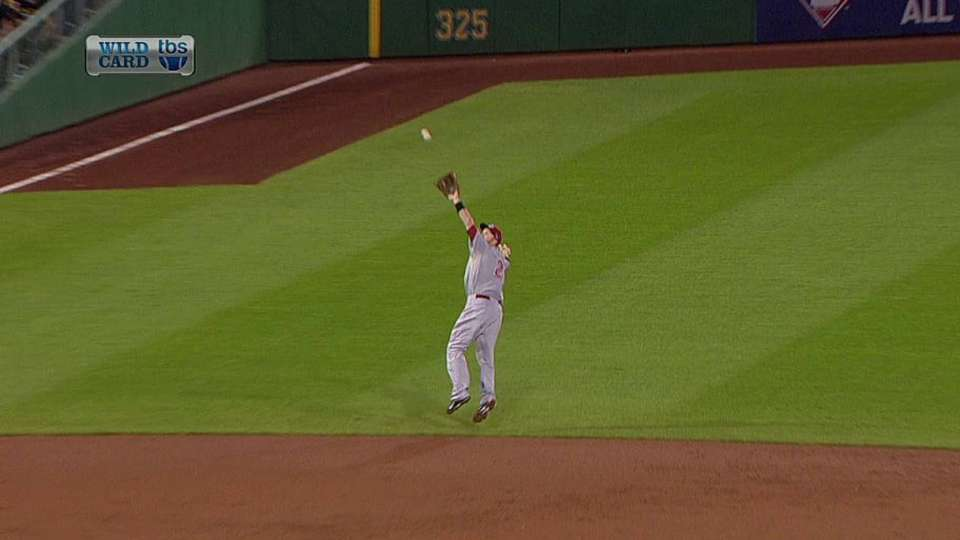 Frazier's athletic grab