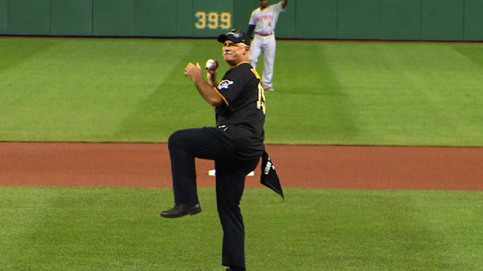 Drabek's first pitch