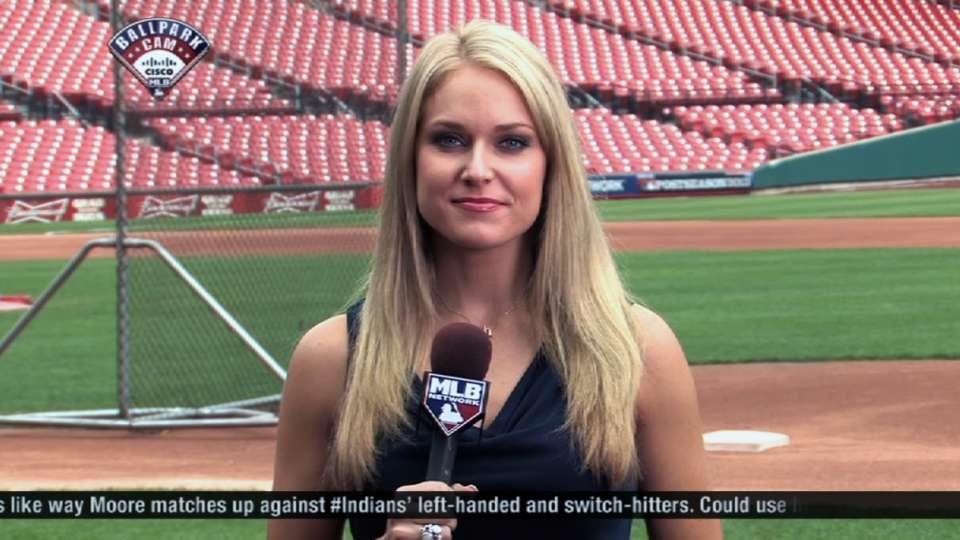 Heidi Watney Reports On Nlds 10022013 Los Angeles Dodgers