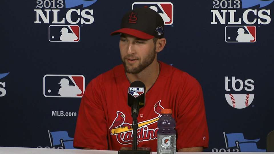 Wacha on starting Game 2 of NLCS