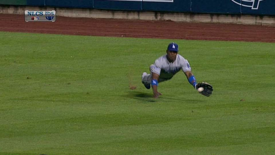 Puig tries to sell catch