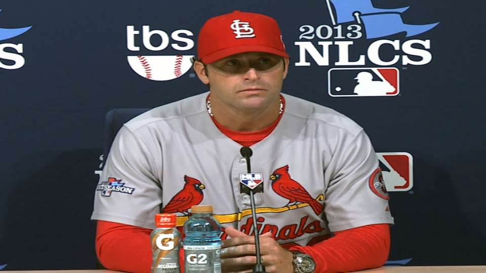 Matheny on Cards' Game 3 loss