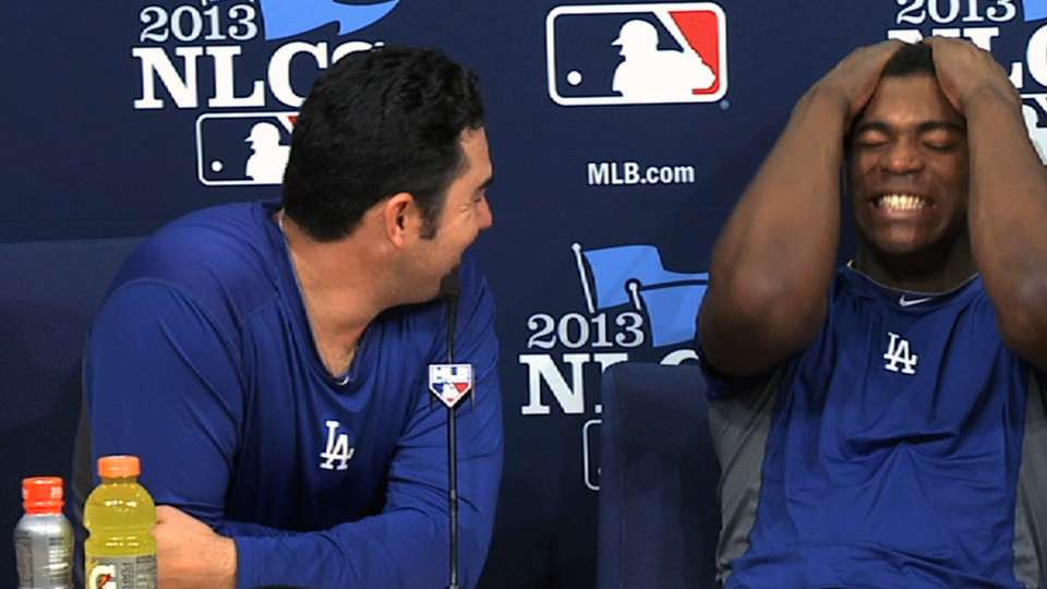 A-Gon, Puig have fun with media