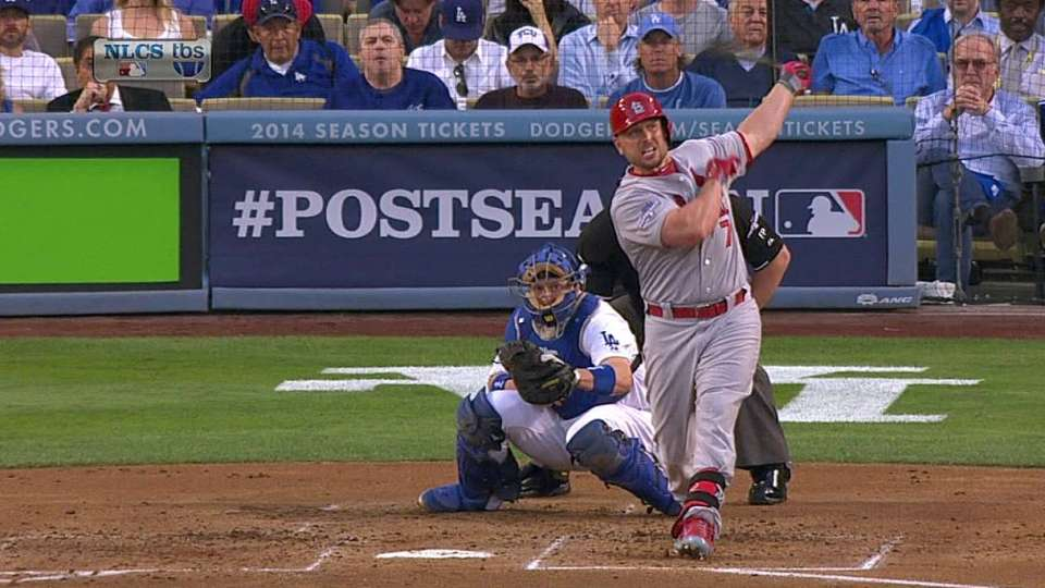 Holliday's no-doubter