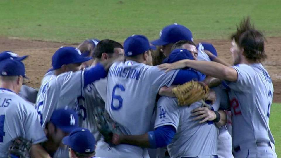 Dodgers clinch the NL West