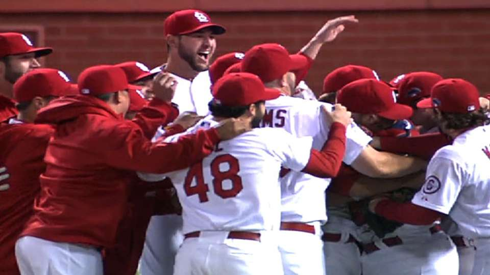 Cardinals win NLCS in six games