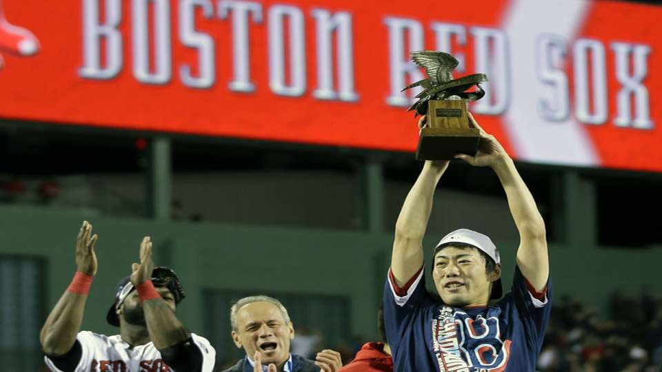 Uehara excited to be named MVP