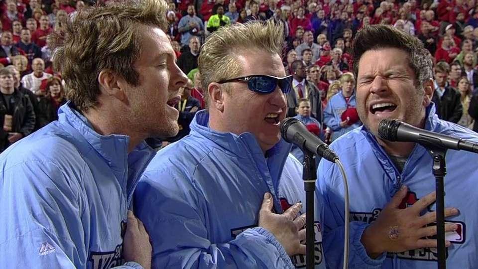 Rascal Flatts sing anthem
