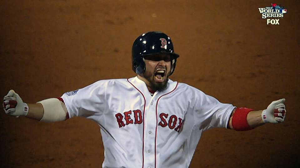 Red Sox's three-run third