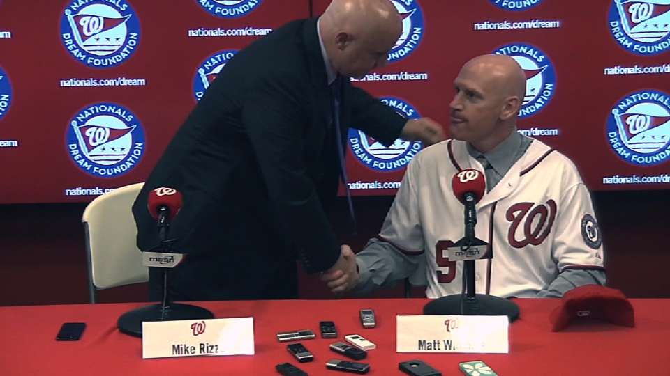 Nationals introduce Williams