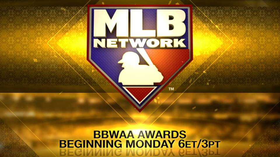 BBWAA Awards on MLB Network