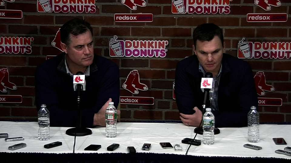 Red Sox ready for busy offseason