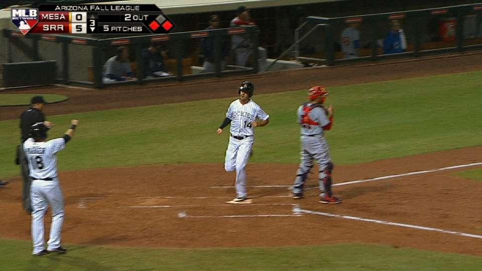 Rafters' seven-run third inning