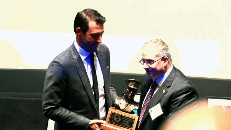 Verlander receives Feller Award