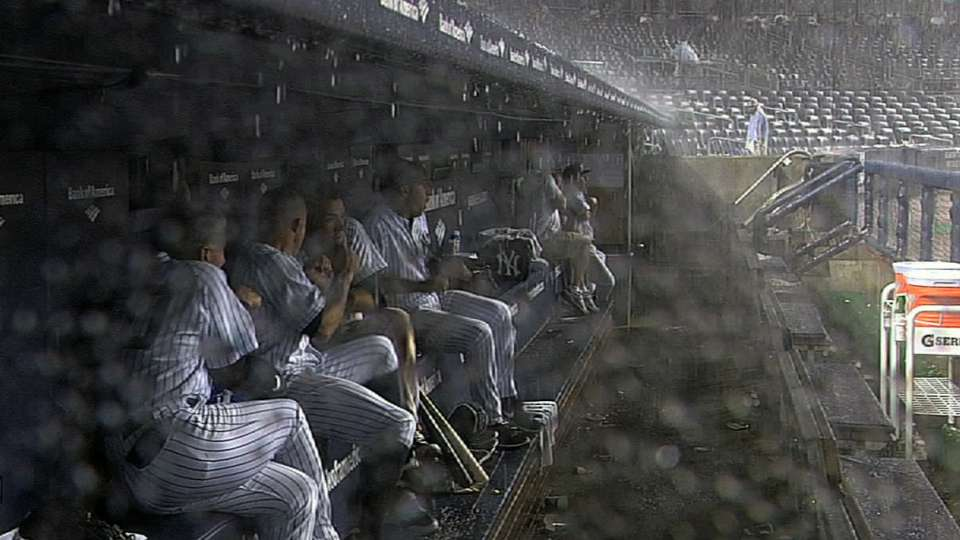 Thunder scares Yanks and Sox